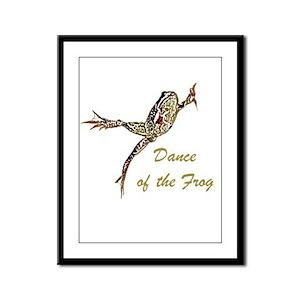 Dance of the Frog Framed Panel Print