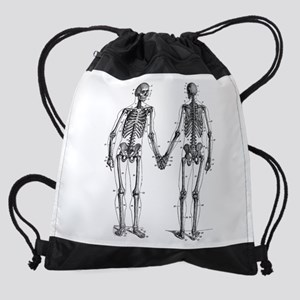 Skeleton Drawstring Bag