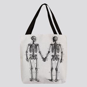 Skeleton Polyester Tote Bag