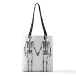 Skeleton Polyester Tote Bag