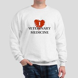 I Love Veterinary Medicine Sweatshirt