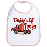 Daddys Lil' Trucker Bib