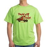 Daddys Lil' Trucker Green T-Shirt