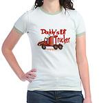 Daddys Lil' Trucker Jr. Ringer T-Shirt