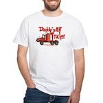 Daddys Lil' Trucker White T-Shirt