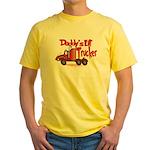 Daddys Lil' Trucker Yellow T-Shirt