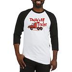 Daddys Lil' Trucker Baseball Jersey