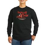 Daddys Lil' Trucker Long Sleeve Dark T-Shirt