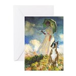 The Umbrella & Boxer Greeting Cards (Pk of 10)