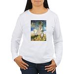 The Umbrella & Boxer Women's Long Sleeve T-Shirt