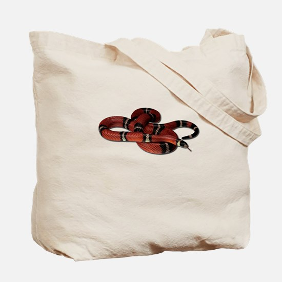 Milk Snake Tote Bag