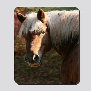 Haflinger Horse Mousepad