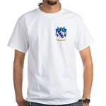Exelby White T-Shirt