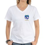 Exelby Women's V-Neck T-Shirt