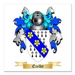 Exelby Square Car Magnet 3