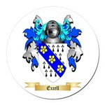 Excell Round Car Magnet