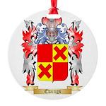 Ewings Round Ornament