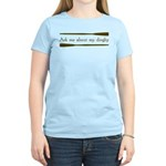 Ask Me About My Dinghy Women's Light T-Shirt
