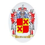 Ewing Ornament (Oval)