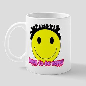 Happy To Be Nappy Mug