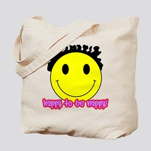 Happy To Be Nappy Tote Bag