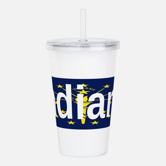 Indiana Acrylic Double-wall Tumbler