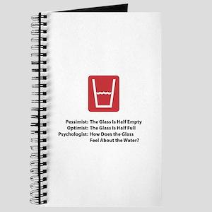 Psychologist Glass Journal