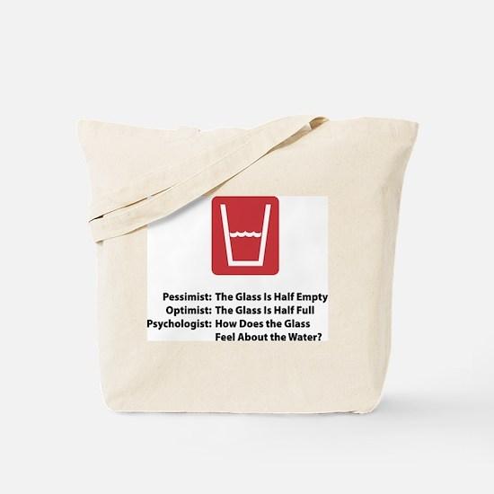 Psychologist Glass Tote Bag