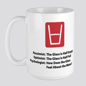 Psychologist Glass Large Mug