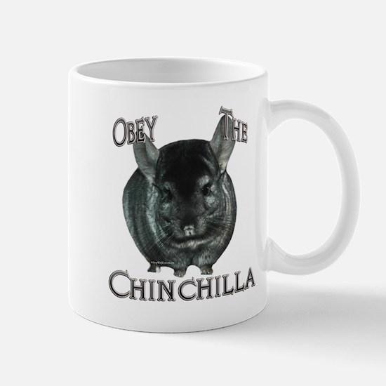 Chinchilla Obey Mug