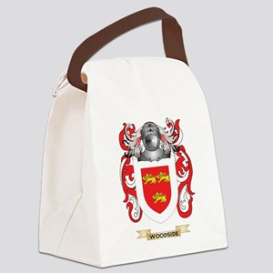 Woodside Family Crest (Coat of Ar Canvas Lunch Bag