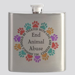 T-Fund 2 Animal Abuse Flask