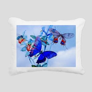 Laptop Take Flight! Butt Rectangular Canvas Pillow