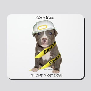 Pit Bull Terrier Puppy Mousepad
