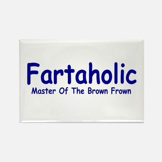 Fartaholic Rectangle Magnet