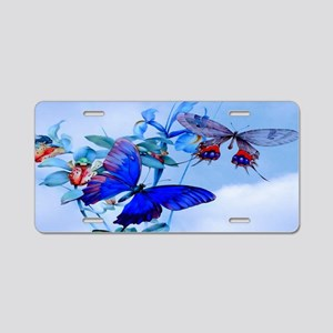 Key Hangar Take Flight Top  Aluminum License Plate