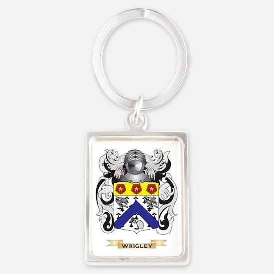 Wrigley Family Crest (Coat of Ar Portrait Keychain