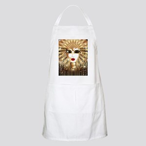Golden Venice Carnival Mask Apron