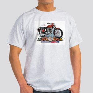 Bite the Bullet 65 Ash Grey T-Shirt