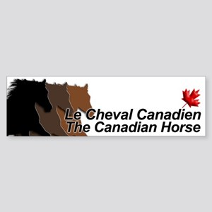 Cdn-heads-bumpersticker Bumper Sticker