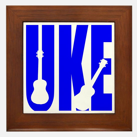 Big Bold Uke Framed Tile