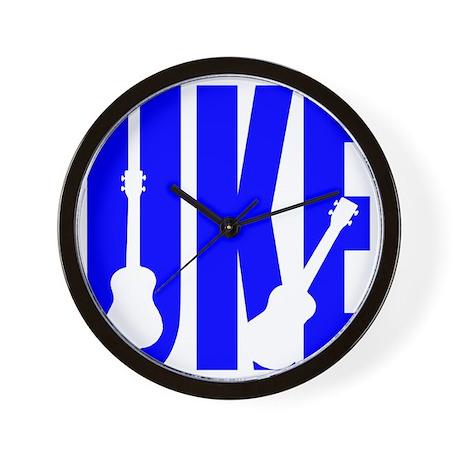 Big Bold Uke Wall Clock