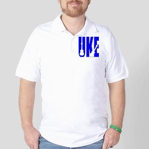 Big Bold Uke Golf Shirt