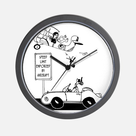 Speed Limit Enforced from Aircraft Wall Clock