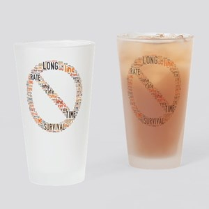 On a long enough time line, the sur Drinking Glass