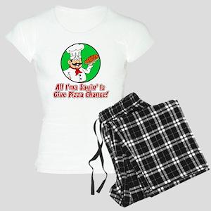 Give Pizza Chance Pajamas