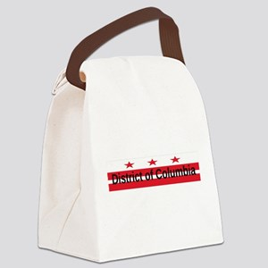 District of Columbia Canvas Lunch Bag