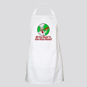 Give Pizza Chance Apron