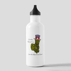 Uncle Sam Cthulhu Water Bottle