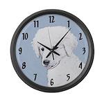 Kuvasz Large Wall Clock